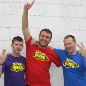 Guts Red Team T Shirt Nickelodeon Global Guts