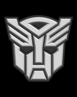 Transformers Autobots Logo Decalcomania Adesivo Sticker
