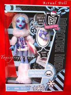 MoNsTeR HiGh AbBeY BoMiNaBle DoLl In StOcK BoXeD NeW*