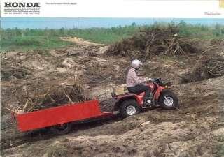 VERY RARE HONDA ATC TRIKE 250 250ES BIGRED BIG RED QUAD ATV VINTAGE
