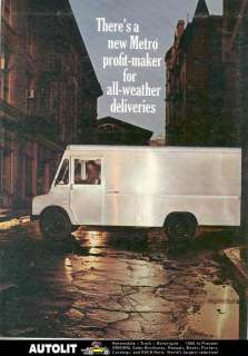 1967 International Metro Aluminum Van Truck Brochure