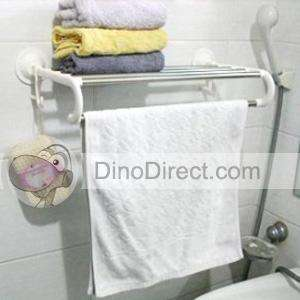 Bathroom Shelving Units on Wholesale Plastic Sucker Bathroom Towel Rack Wall Shelf Dinodirect