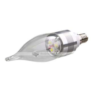 Wholesale AYHW E14 3W 3LED White Light LED Candle Lamp(AC 85 265V