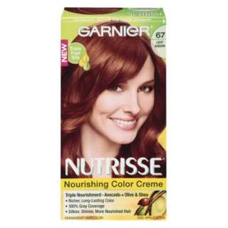 Garnier Nutrisse Hair Color: 67 Ginger Spice Light Auburn.Opens in a
