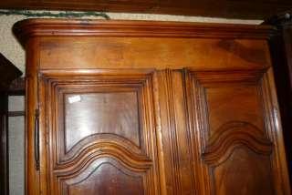 armoire en noyer louis XIV dépoque ANTIQUITE TENDANCE PROVENCE