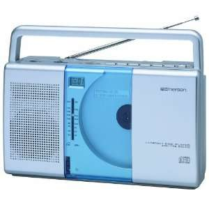 EMERSON PD5098   PORTABLE CD PLAYER WITH AM/FM RADIO