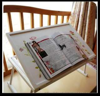 Painted Laptop Table / Desk with Rural Picture In Korean Style M yw35
