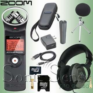 Zoom H1 Micro SD Recording System Portable Recorder