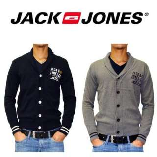 GILET HOMME JACK AND JONES CARDIGAN MODELE GORDON NEUF.GRIS OU BLEU. S
