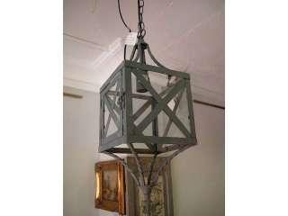 FAROL O LAMPARA DE HIERRO CON CADENA PARA EL TECHO (5616318)