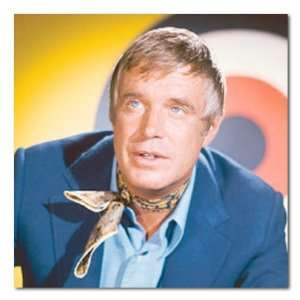 George Peppard Color Box Canvas Print Gallery Wrapped