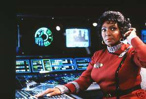 Nichelle Nichols STAR TREK 35MM SLIDE PHOTO NEGATIVE