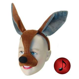 Half Face Eye Mask Silly Fancy Dress Party Animal Sound Effect
