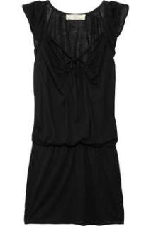 Vanessa Bruno Athé Lace trimmed jersey mini dress   65% Off Now at