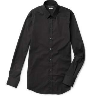 Dolce & Gabbana Slim Fit Stretch Cotton Shirt  MR PORTER