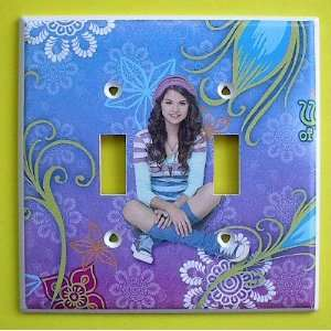 Waverly Place Alex Russo Double Switch Plate switchplate Selena Gomez