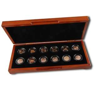 2009 Lincoln Cent Copper Collection of 12 Coins