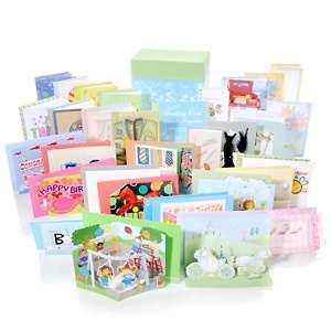 All Occasion 30 piece Greeting Card Set with Storage Box