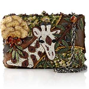 Mary Frances Beaded Giraffe Boxed Evening Bag