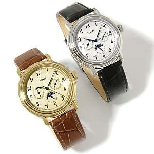 Stauer Mens Automatic Winding Stainless Steel Wrist Watch