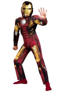 Kids Avengers Iron Man Muscle Costume   Iron Man Mark VII Avengers