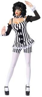Adult Sexy Harlequin Clown Costume   Sexy Adult Halloween Costumes