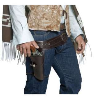 Authentic Western Gunman Belt & Holster Adult, 70319