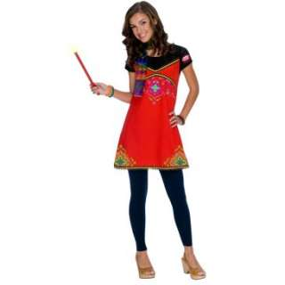 Wizards of Waverly Place Alex Boho Dress Child Costume, 65537
