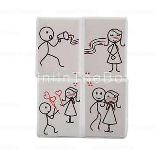 dibujos animados de estilo imanes para el frigorífico (paquete de