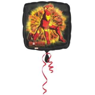 Halloween Costumes Iron Man 2   18 Foil Balloon