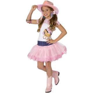 Halloween Costumes Planet Pop Star Cowgirl Child Costume