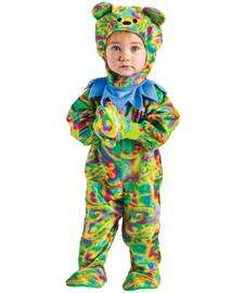 Tie Dye Bear Costume for Infants  Baby Tie Dye Teddy Bear Costume