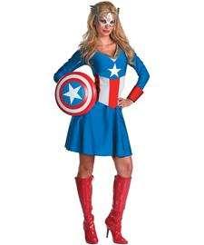 Captain America American Dream Adult Costume