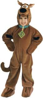 Scooby Doo Deluxe Toddler (Kids Costume)