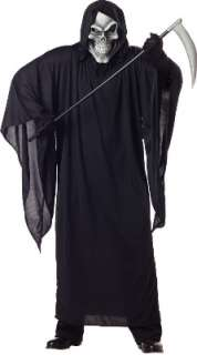 Plus Size Grim Reaper Costume for Halloween   Pure Costumes