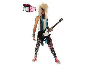 80S Hair Band Punk Rock Maniac Adult Costume Extra Large
