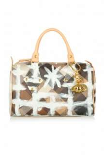 Painted Derby Tote by Vivienne Westwood Accessories   Multicoloured