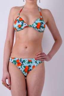 Orange Print Padded Triangle Bikini by D&G   Multicoloured   Buy