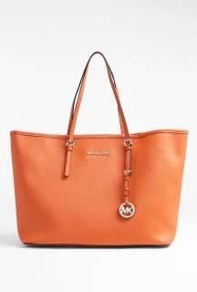 MICHAEL Michael Kors  Tangerine Jet Set Medium Travel Tote by MICHAEL