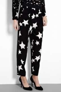 Sonia by Sonia Rykiel  Black & White Star Print Trouser by Sonia by