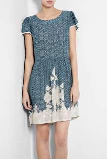 Paul & Joe Sister  Clea Short Sleeved Floral Printed Dress by Paul