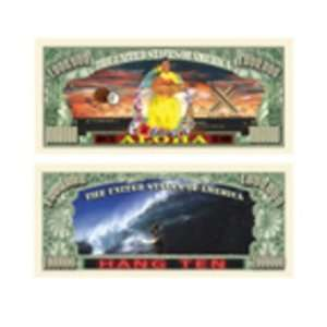 (Hawaiian) Million Dollar Bill Case Pack 100   413342: Toys & Games