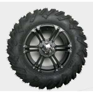 26x8x14 Tire/SS212 Black Alloy Wheel Kit