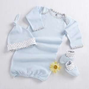 Piece Layette Set in Keepsake Gift Box (Blue) (Quantity of 12) Baby