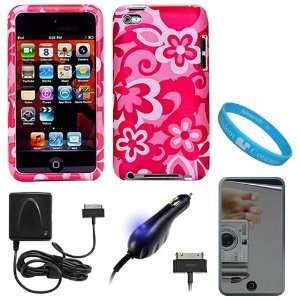 Rubberized Crystal Hard Case Cover for Apple iPod Touch 4th Generation