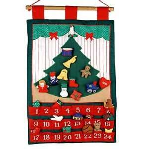 Tree Advent Calendar Christmas Ornament