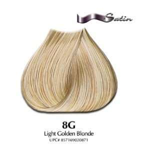 8G Light Golden Blonde   Satin Hair Color with Aloe Vera Base Beauty