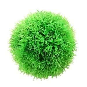 Como 4 7/10 Dia Aquarium Tank Plastic Moss Marimo Ball Water Plant