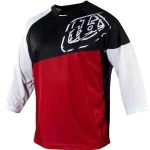 Troy Lee Designs Ruckus Mens Bike Racing BMX Jersey   Red