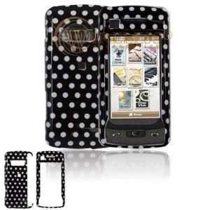 LG VX11000 Cell Phone Black/white Polka Dot Design
